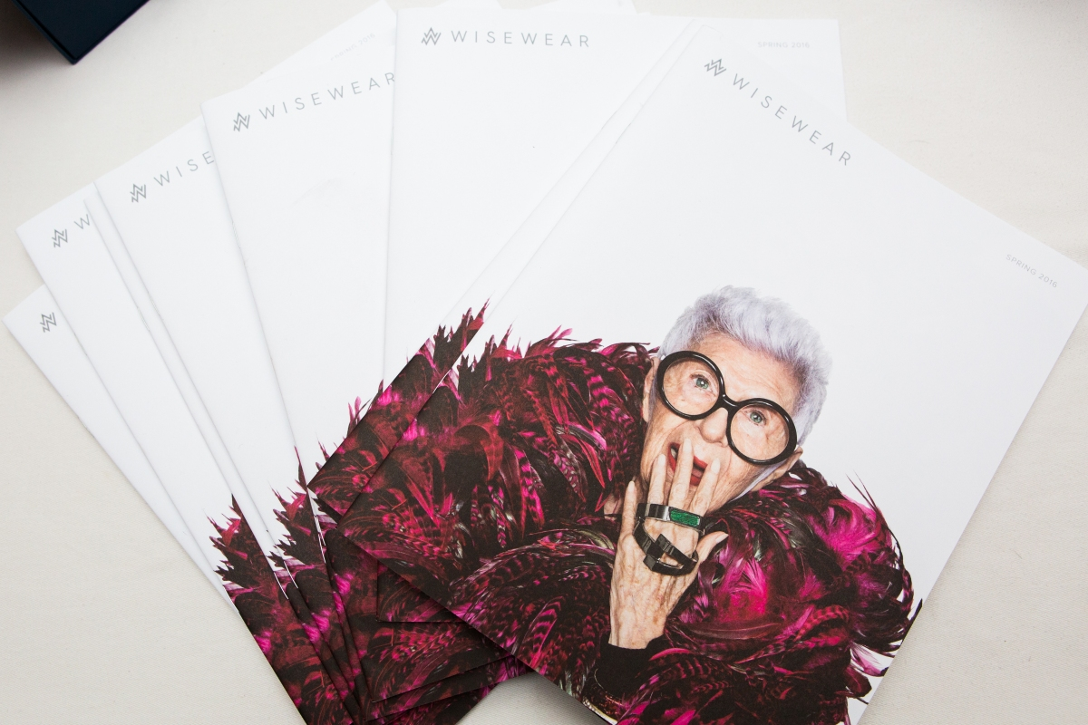 Breakfast with WiseWear and Iris Apfel