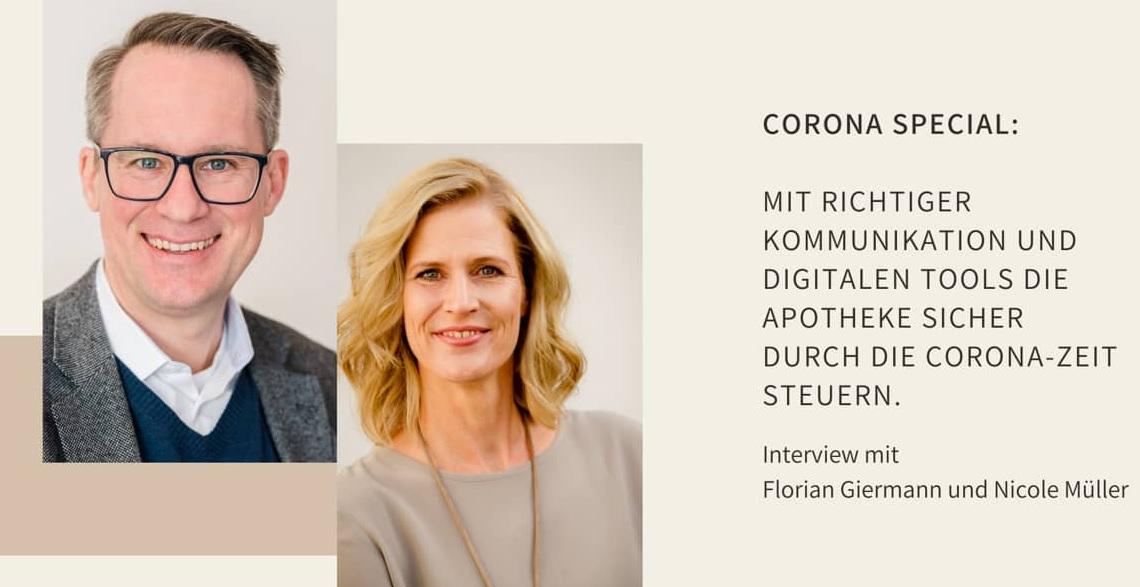 Apotheke Digitalisierung Kommunikation eRezept Corona Covid-19