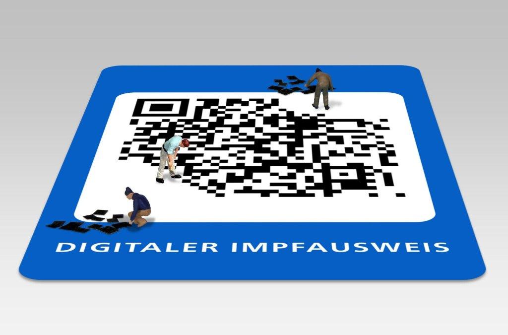 Apotheke Digitalisierung Impfnachweis QR-Code Barcode 1D 2D
