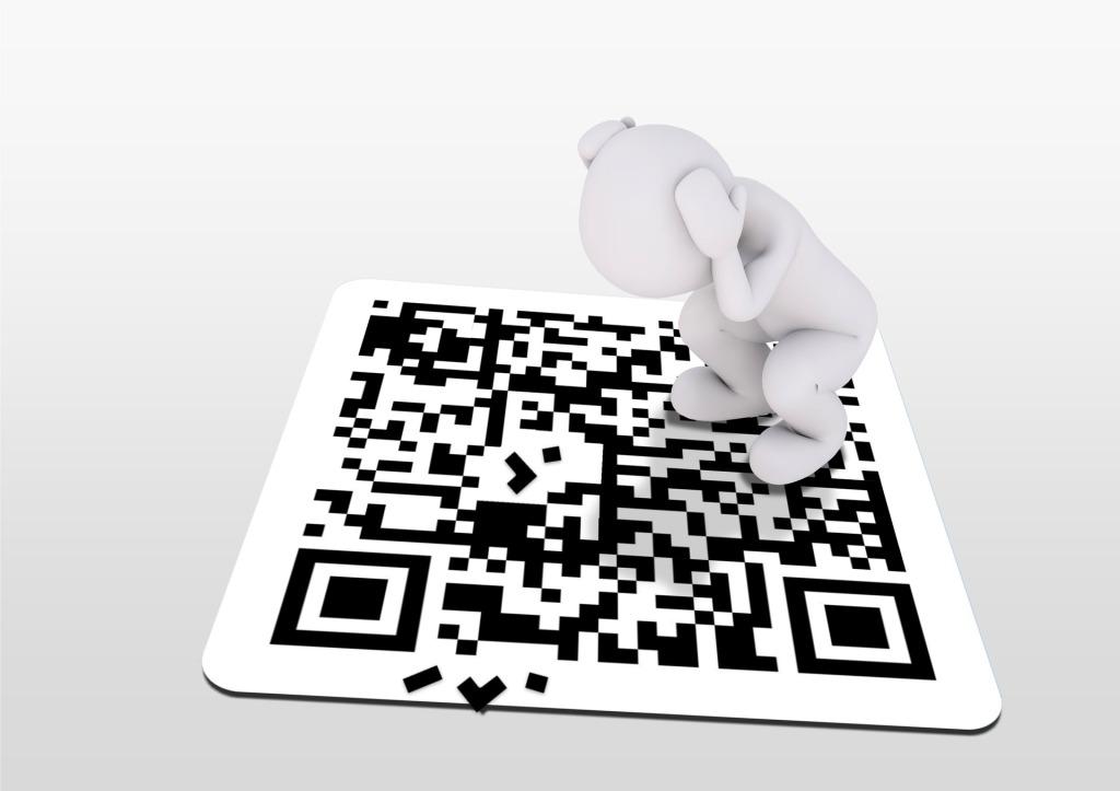 Apotheke Digitalisierung QR Code Data Matrix 1D 2D Schlüssel Zukunft Symbol